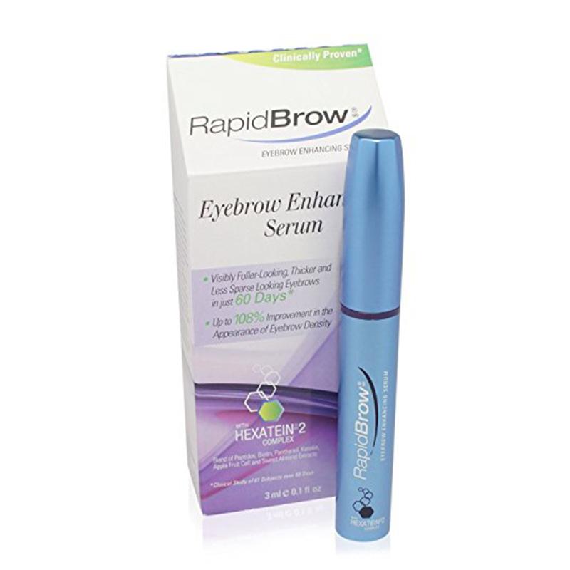 RapidBrow®  眉毛护理及增长精华液 0.1盎司/支 1支 0.1盎司