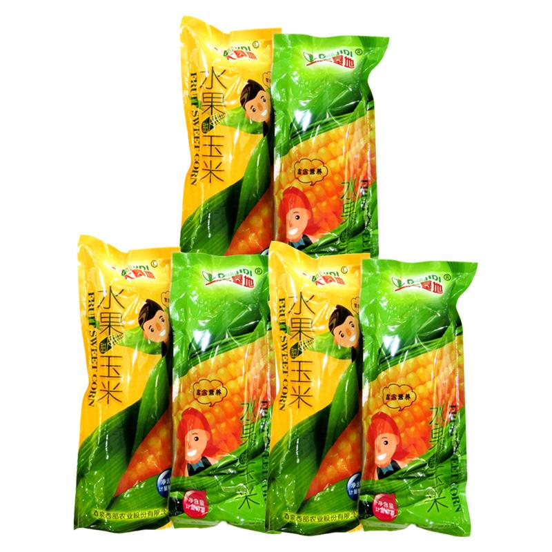 大基地水果甜玉米3对(6支) 对 香甜